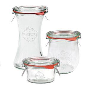 Prämie 3 Original WECK-Gläser